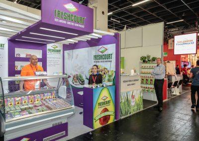 Stand para Freshcurt en Anuga 2017